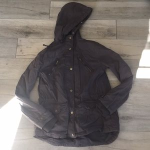 Mossimo zip up coat